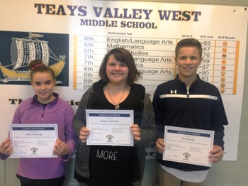 Students of the Month - September