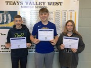 Students of the Month - November image