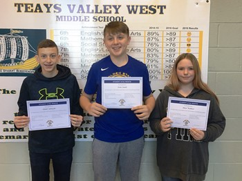 Students of the Month - November