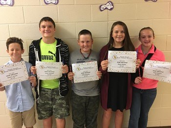 Star Students - 7th Grade