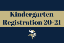 Kindergarten Registration 2020-21