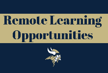 Remote Learning Opportunities