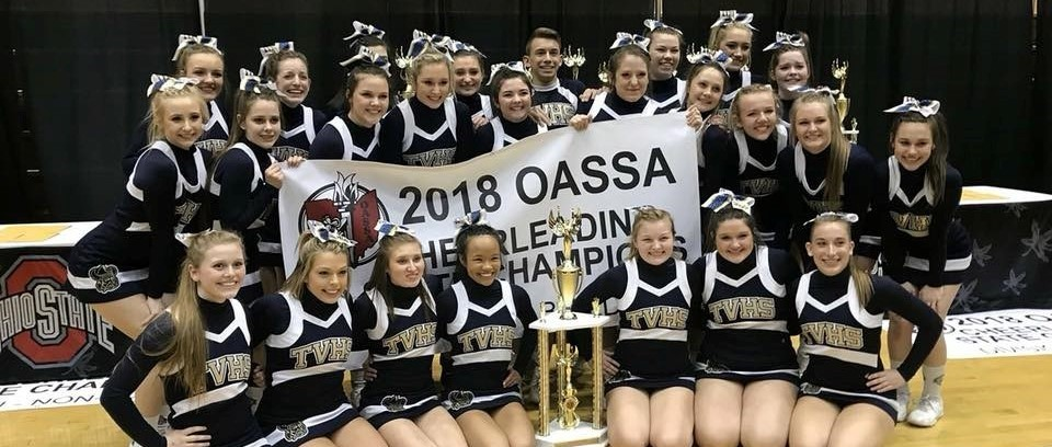 TVHS Competition Cheerleading Team - State Champs